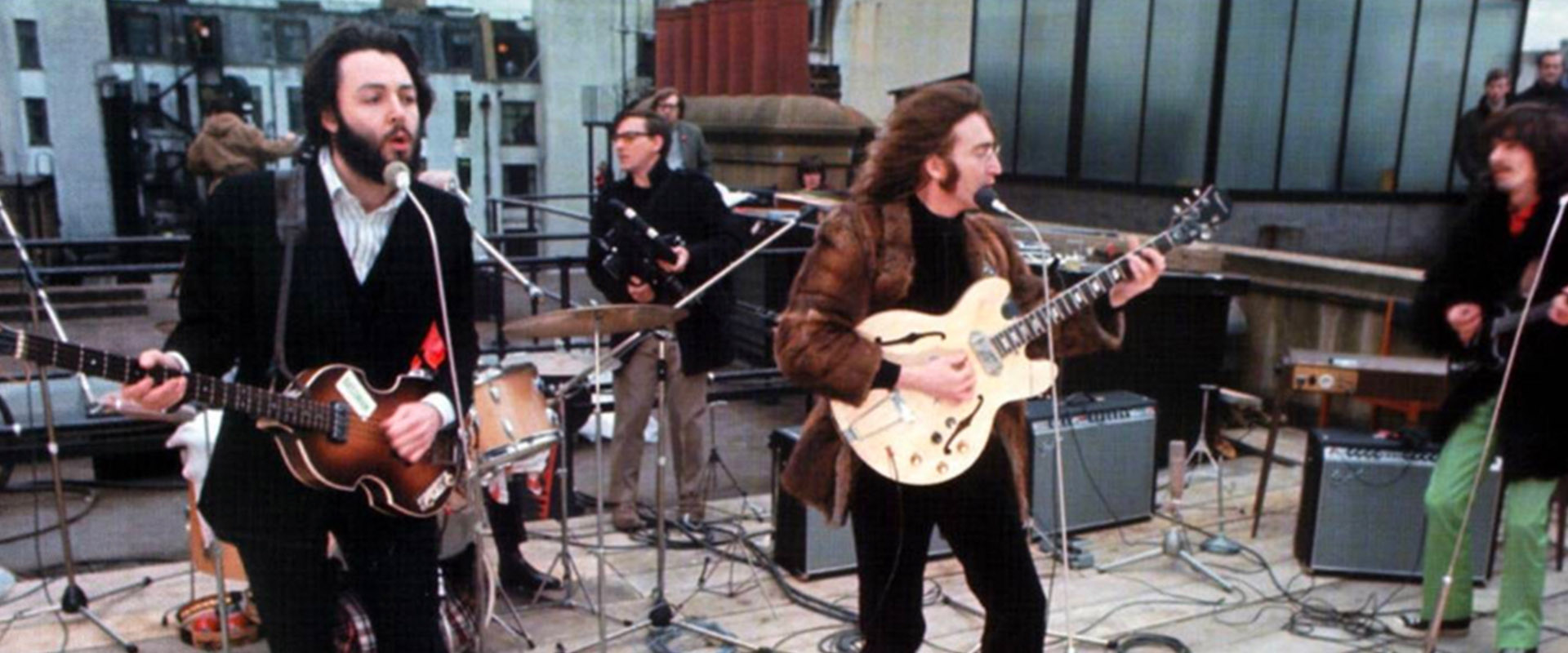 Beatles Rooftop Performance