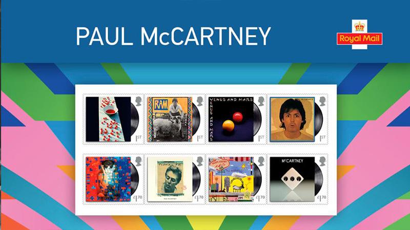 Paul Royal Mail Stamp