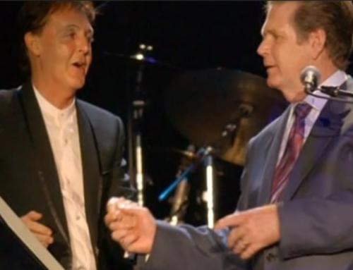 Beach Boy Brian Wilson Meets Paul McCartney